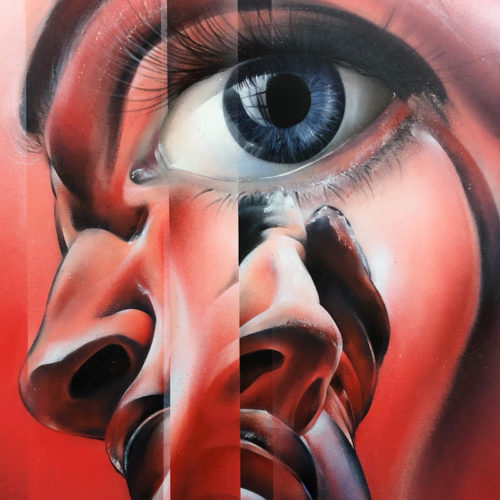 graffiti sur toile streetart city France