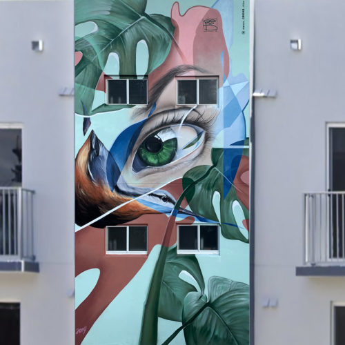 GOMAD mural Wynwood Miami 2019