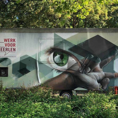 gomad mural getting up heerlen art on wheels