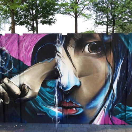 gomad mural sita eindhoven