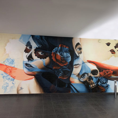 gomad mural man cave roermond