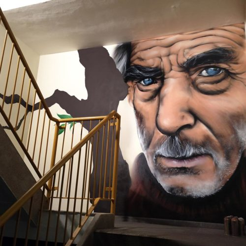gomad mural staircase heerlen