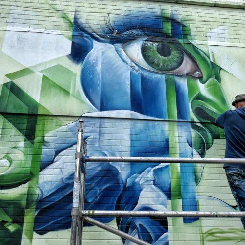 gomad mural upfest bristol