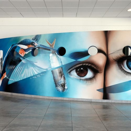 gomad mural muurschildering bonnefanten college maastricht