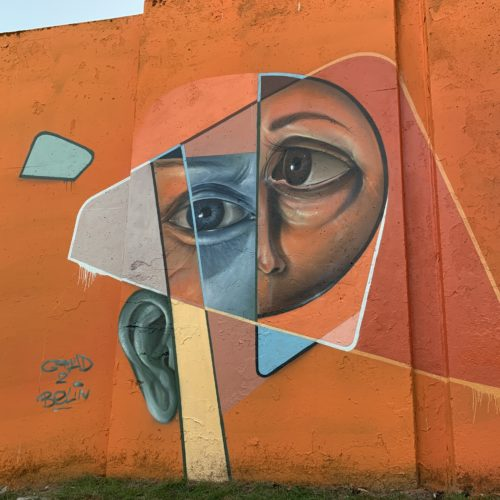 gomad belin mural step in the arena festival eindhoven 2020