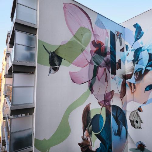 gomad mural flat building geleen zowonen