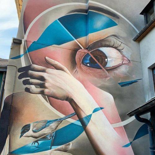 gomad mural muurschildering saint-brieuc france justdopaint festival