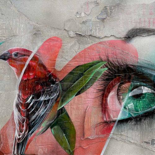 gomad urban art oil painting